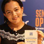 Jovem de 24 anos é ganhadora da segunda bolsa do Senac Open