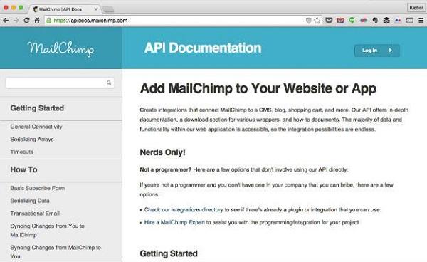 Documentação da API