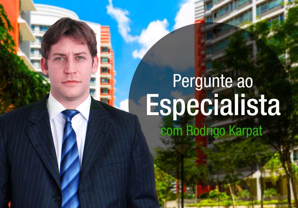 Essa semana, Rodrigo Karpat fala sobre uso da vaga, área de lazer e decoração do hall