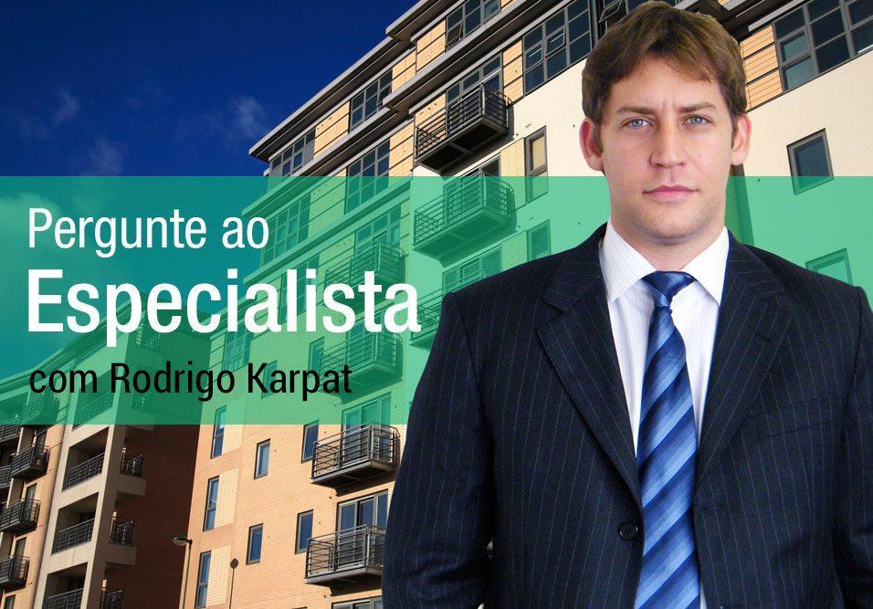 Essa semana, Rodrigo Karpat fala sobre aluguel de antena, entrada no condomínio e atividade comercial