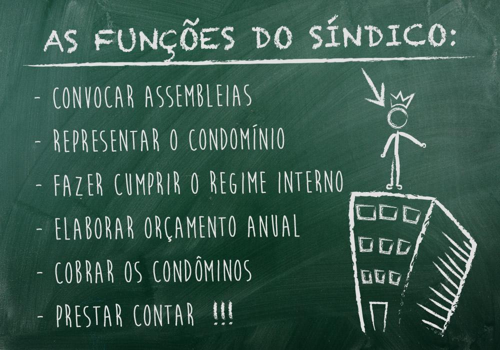 As funções do Sindico