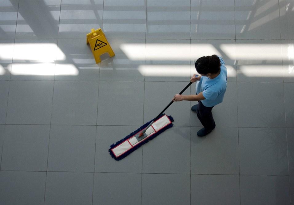 Limpeza em condomínio