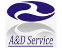 Logo da empresa A&D Service