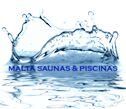 Logo da empresa ADM Saunas