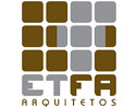 Logo da empresa ETFA Arquitetos