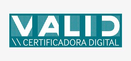 Logo da Valid Certificadora