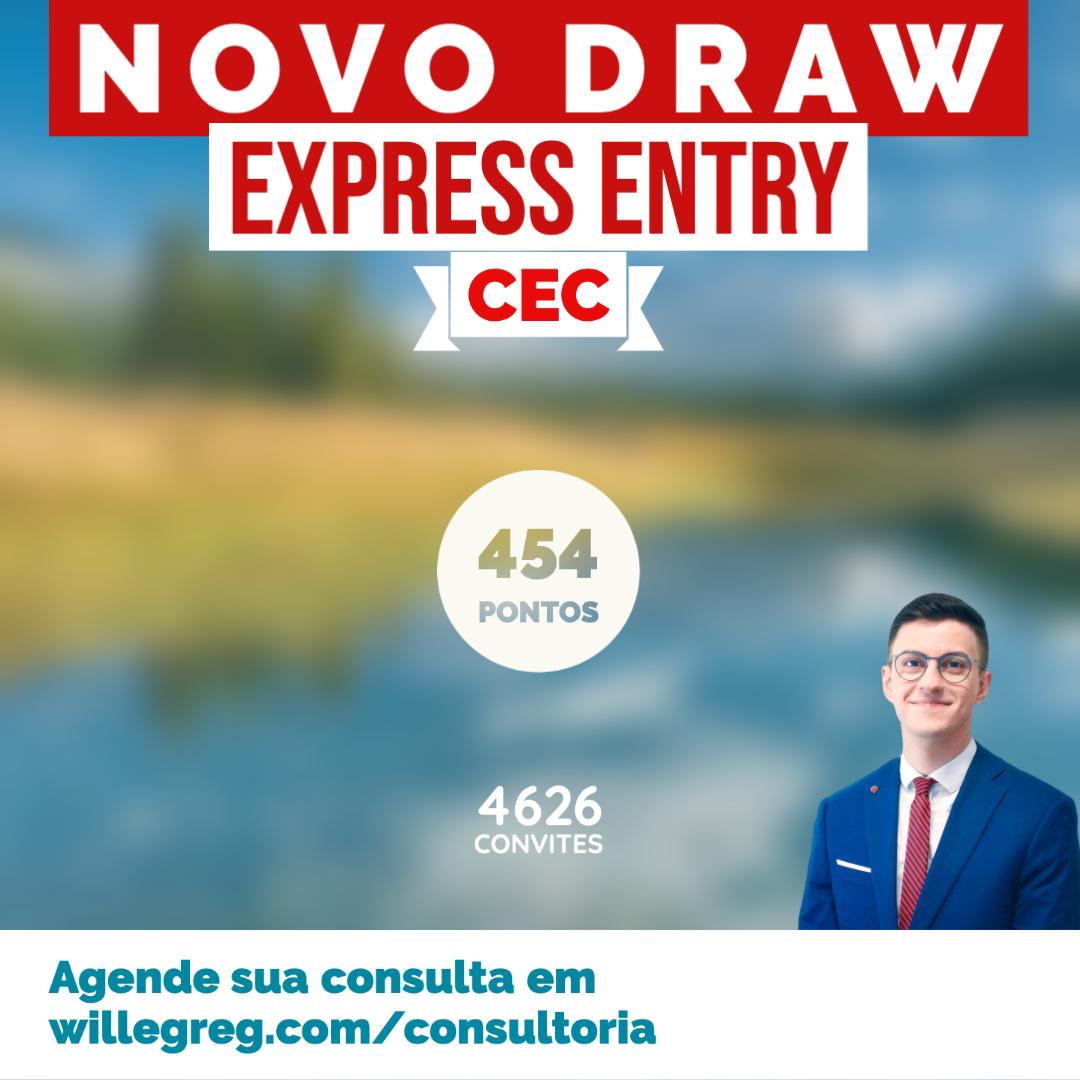 Novo Draw Express Entry 21/01