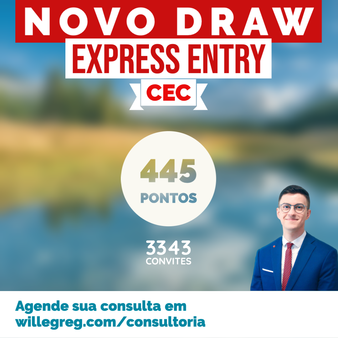 Novo Draw Express Entry 23/07