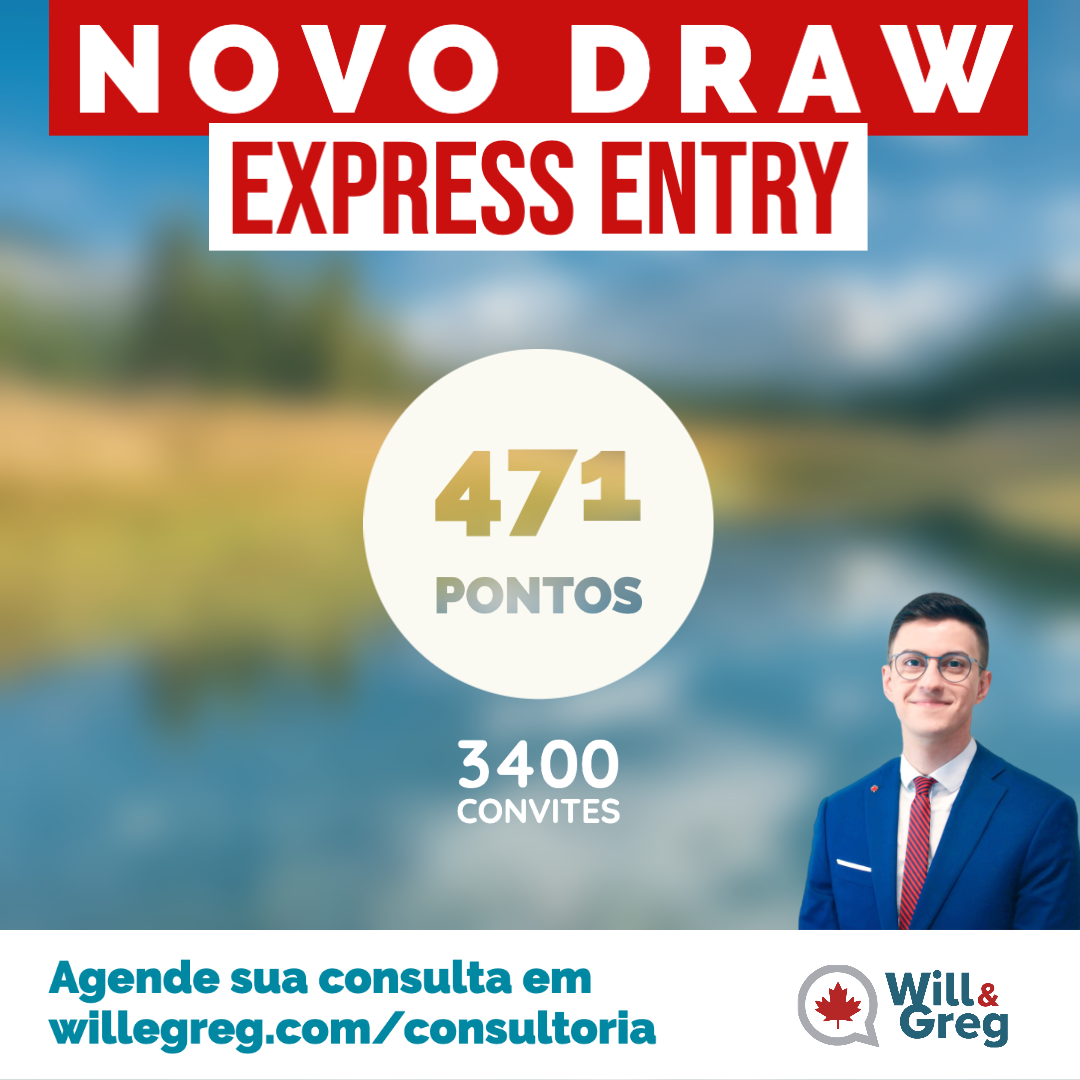 Novo Draw Express Entry 22/01