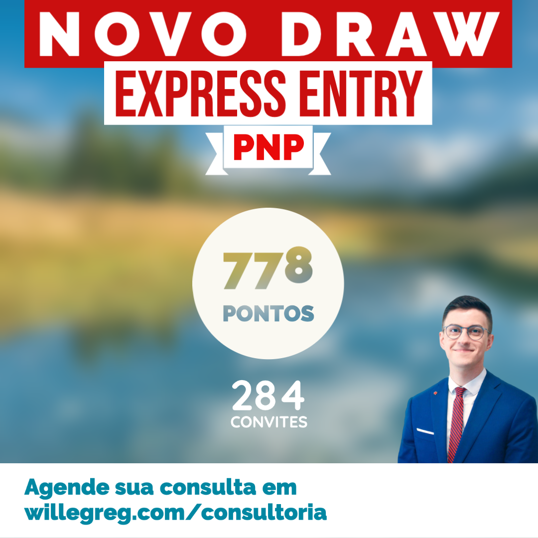 Novo Draw Express Entry 31/03