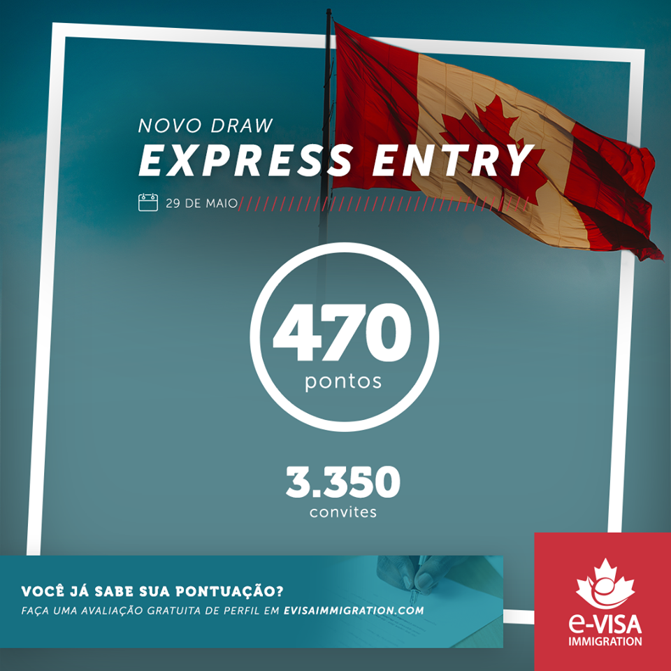 Novo Draw Express Entry 29/05