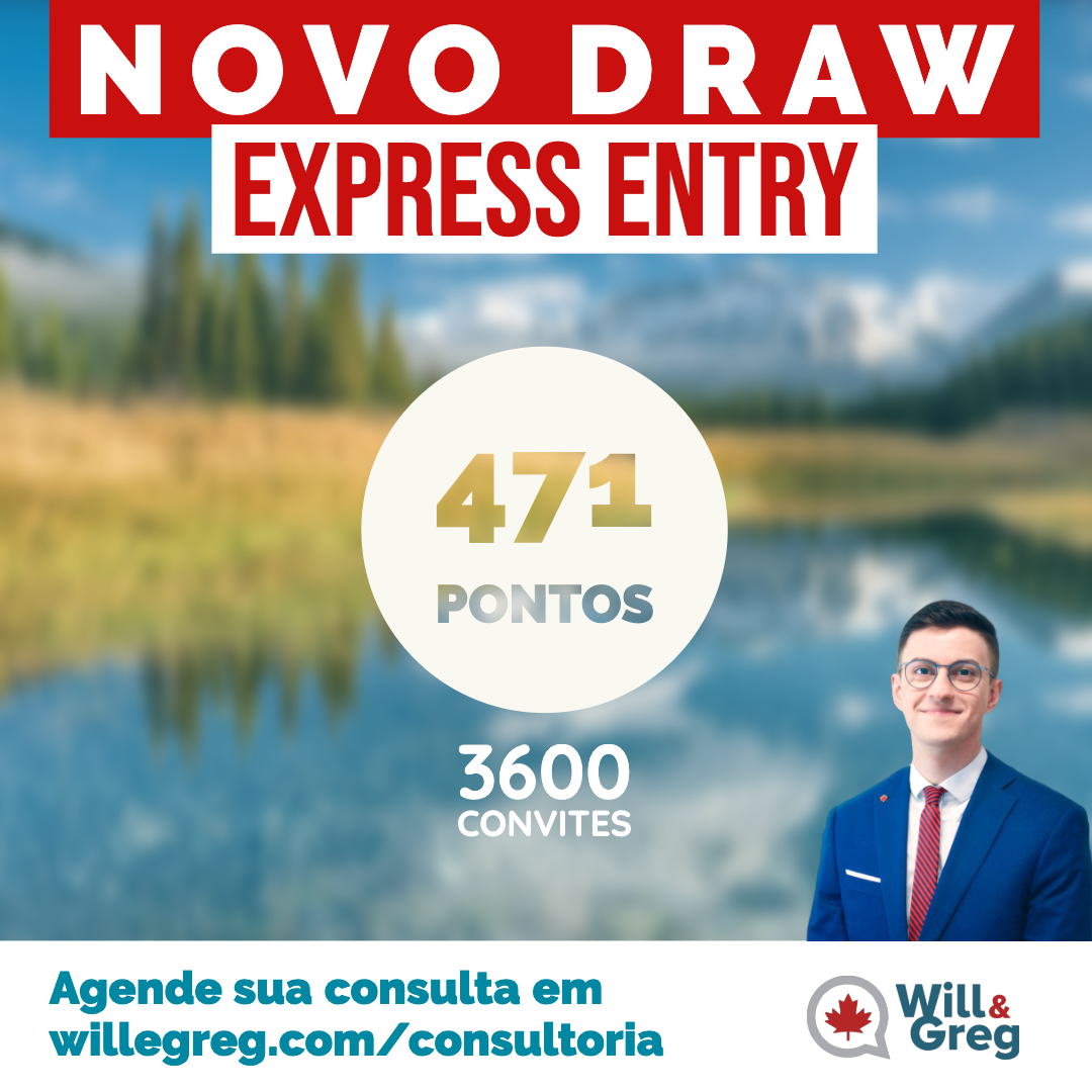 Novo Draw Express Entry 27/11