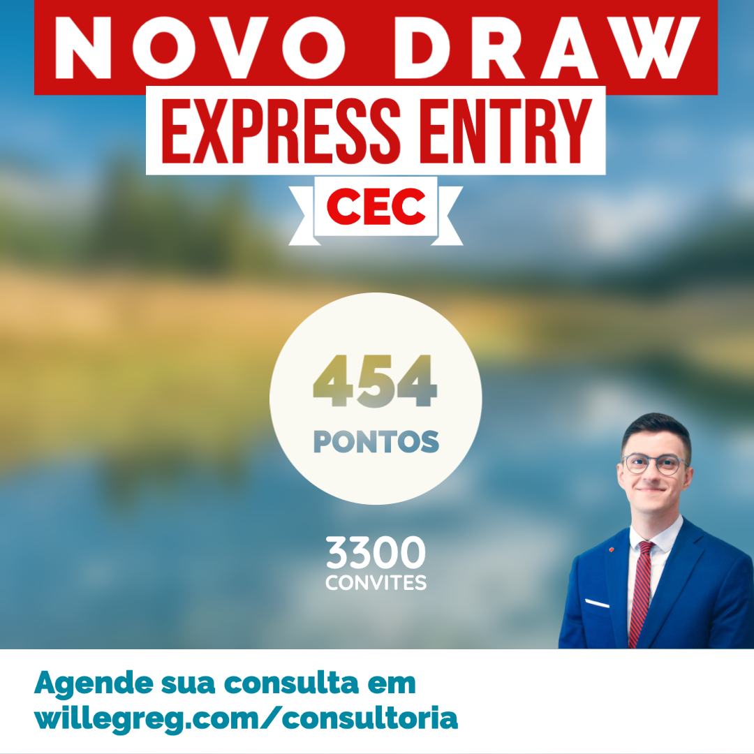 Novo Draw Express Entry 20/08