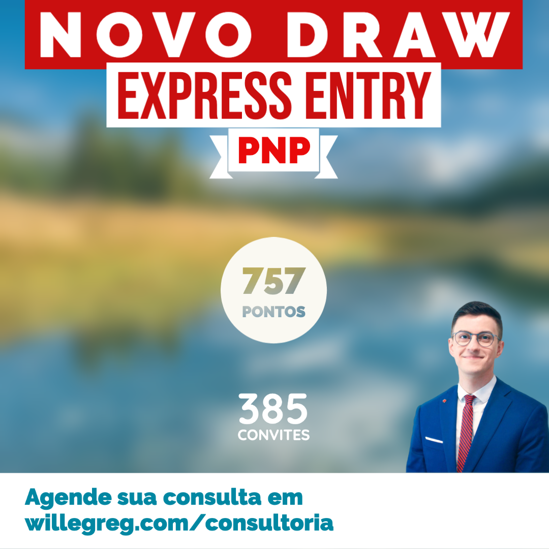 Novo Draw Express Entry 27/05