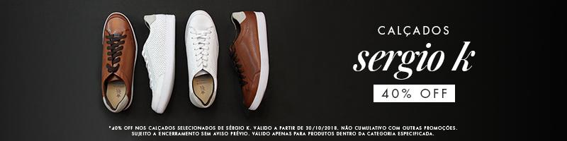 48b7ec606a CALÇADOS - SERGIO K. - MASCULINO - Marcas - Shop2gether