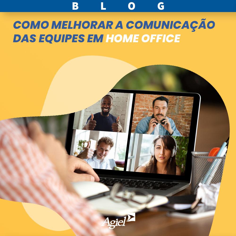 Como melhorar a comunicação das equipes em home office
