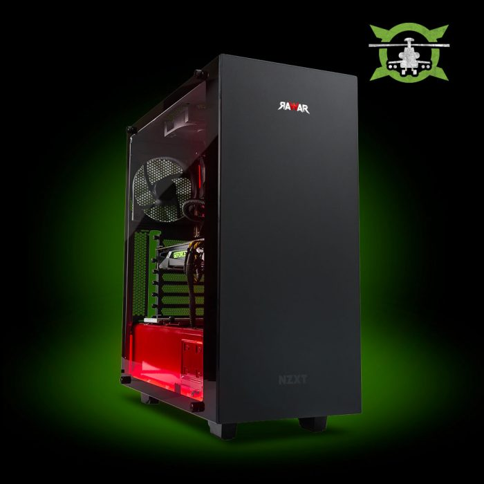 PC GAMER RAWAR BLACK SHARK