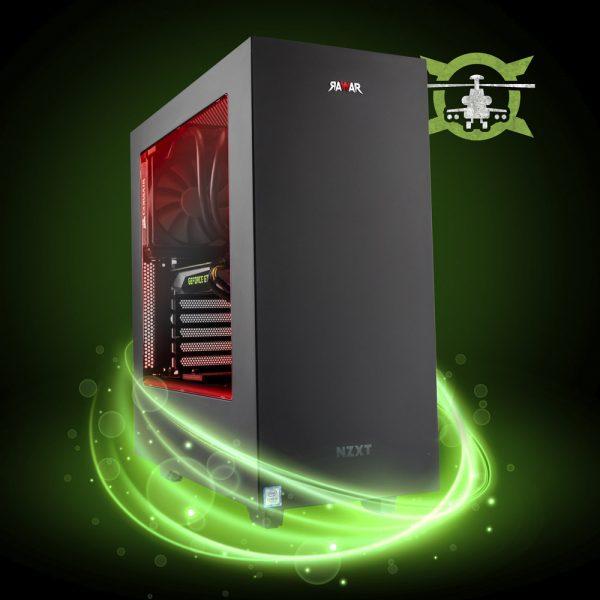 PC GAMER RAWAR BLACK SHARK