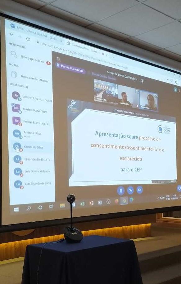 Qualificação CONEP com o CEP Unidavi