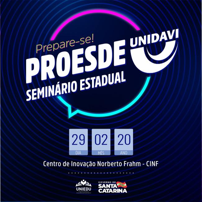 Seminário Estadual Proesde