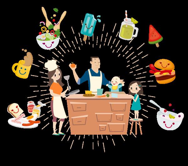 Como envolver as crianças no preparo de alimentos