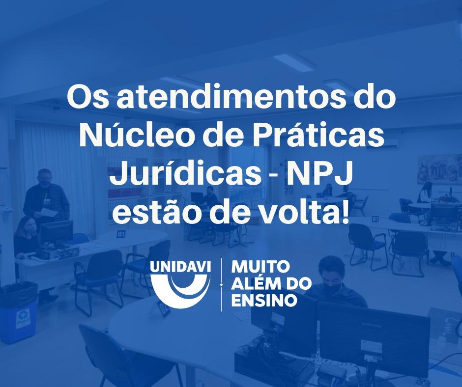 Núcleo de Práticas Jurídicas - NPJ