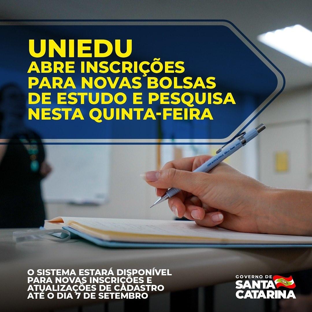 Programa de Bolsas Universitárias de Santa Catarina (Uniedu)