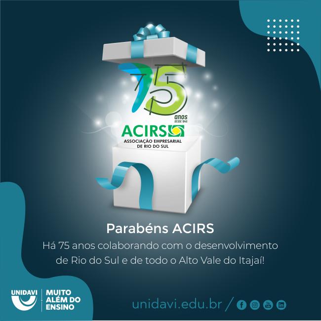 ACIRS completou 75 anos