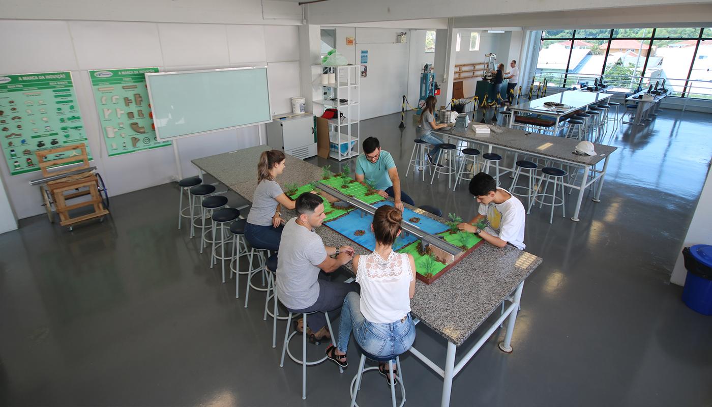 Laboratório de Materiais de Construção Civil