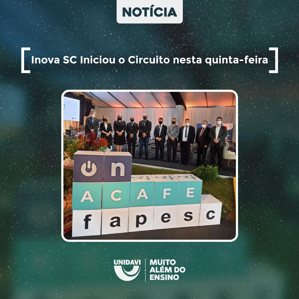 Inova SC Iniciou o Circuito nesta quinta-feira