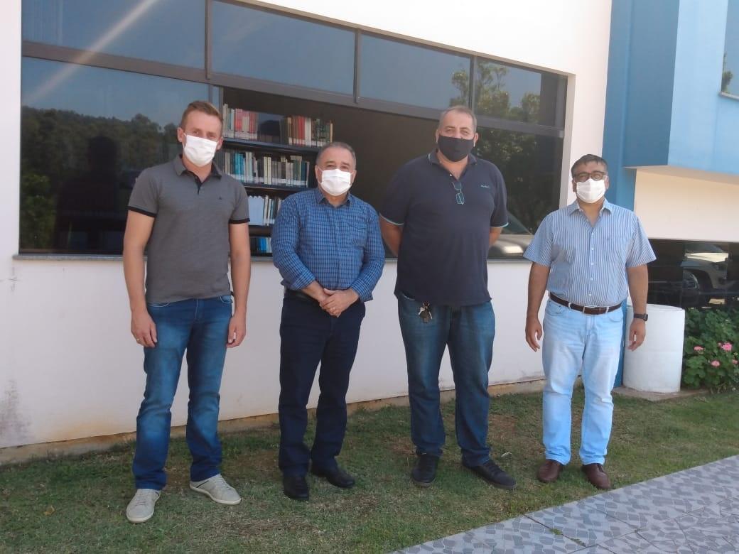Reitor visita prefeitos de Taió, Ituporanga e Presidente Getúlio
