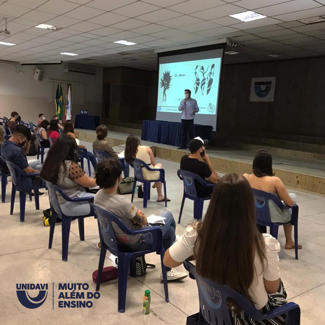 Acadêmicos participam de seminário sobre Percepção e Testemunho no Direito