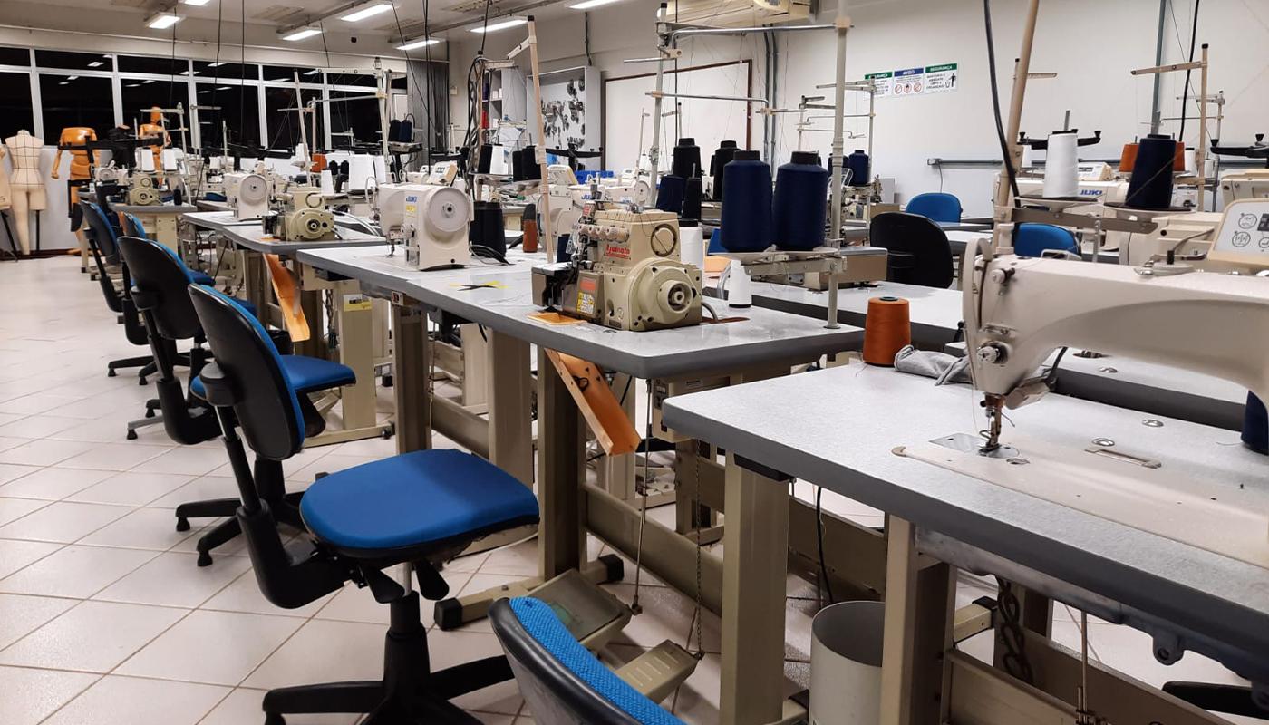 Laboratório de Costura e Modelagem