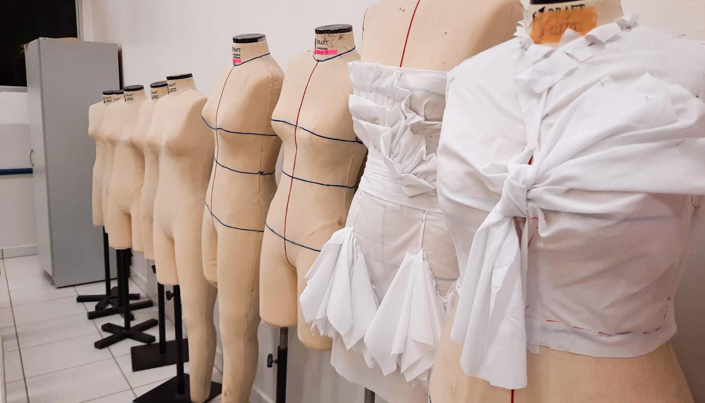 Foto1 da Estrutura - Laboratório de Costura e Modelagem