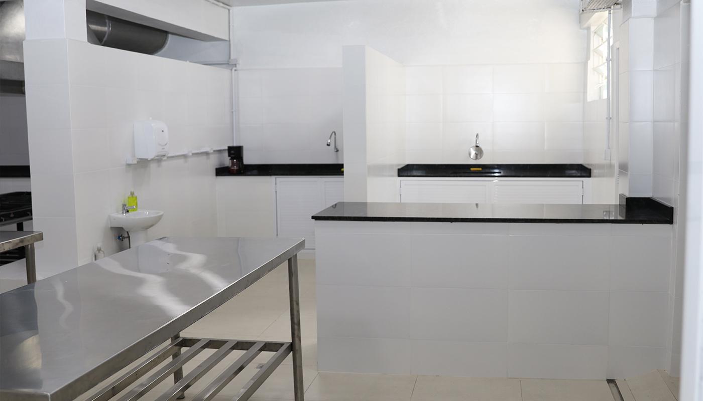 Foto1 da Estrutura - Cozinha Didática