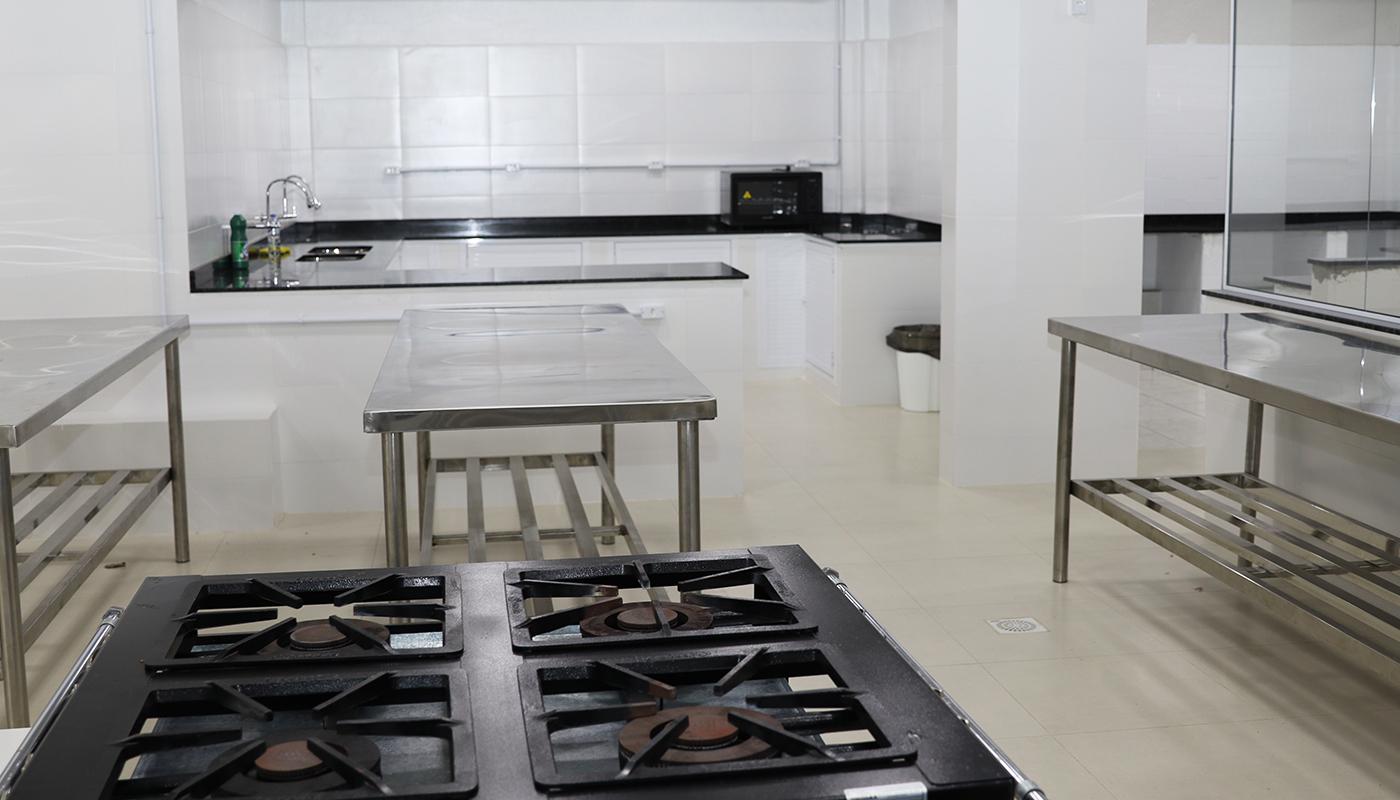 Foto2 da Estrutura - Cozinha Didática