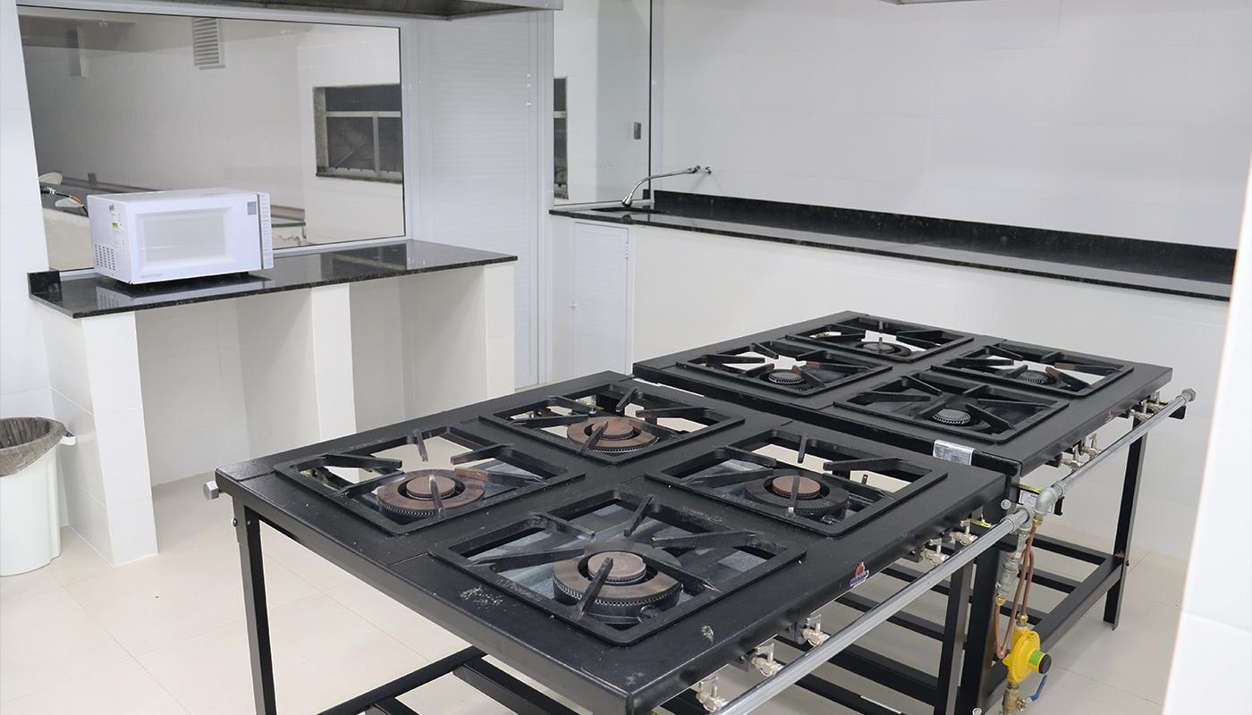 Foto4 da Estrutura - Cozinha Didática