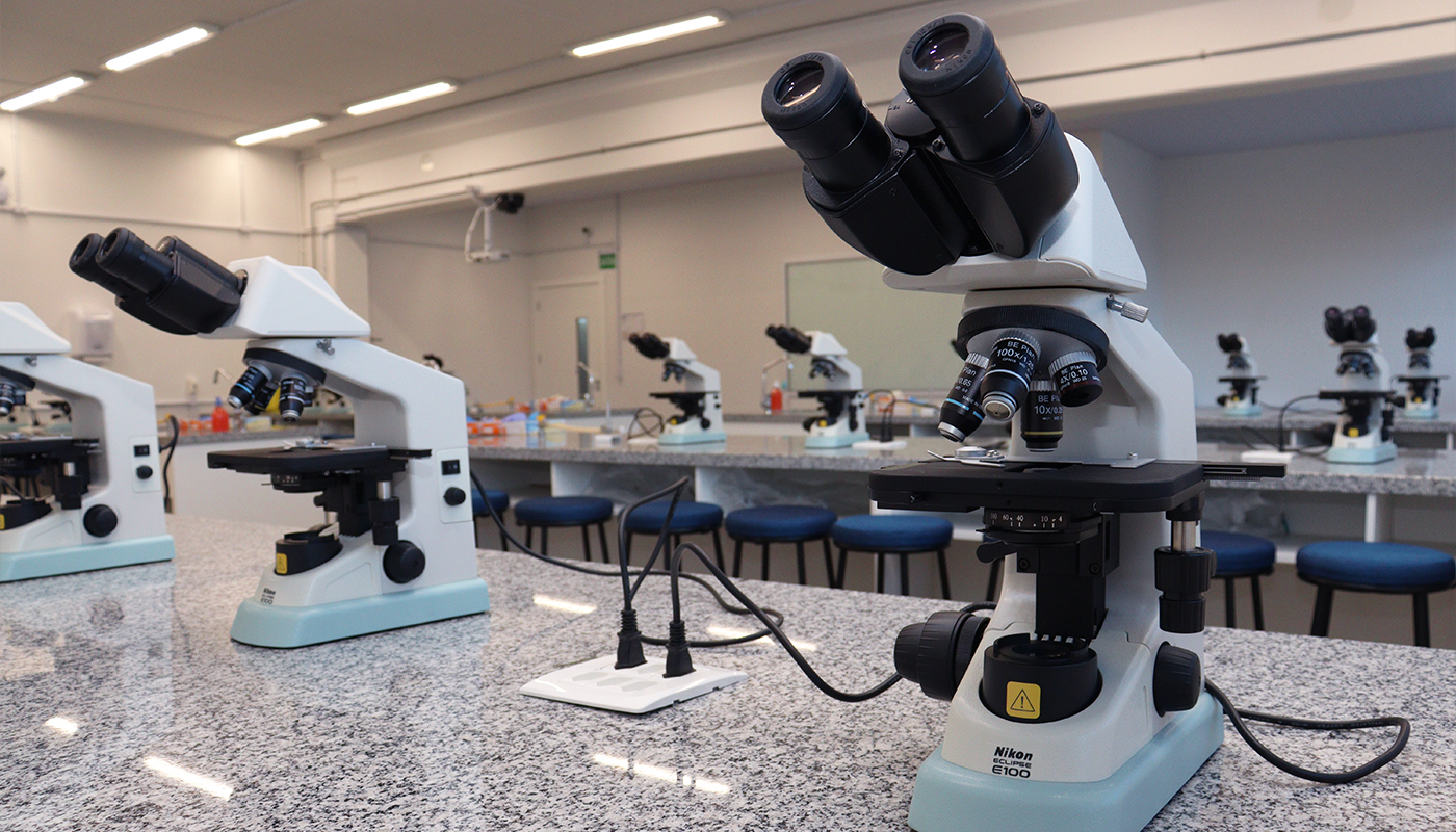 Foto3 da Estrutura - Laboratório de Microscopia