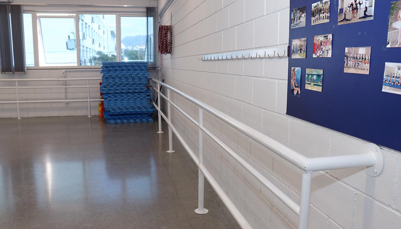 Foto1 da Estrutura - Sala de Práticas Corporais