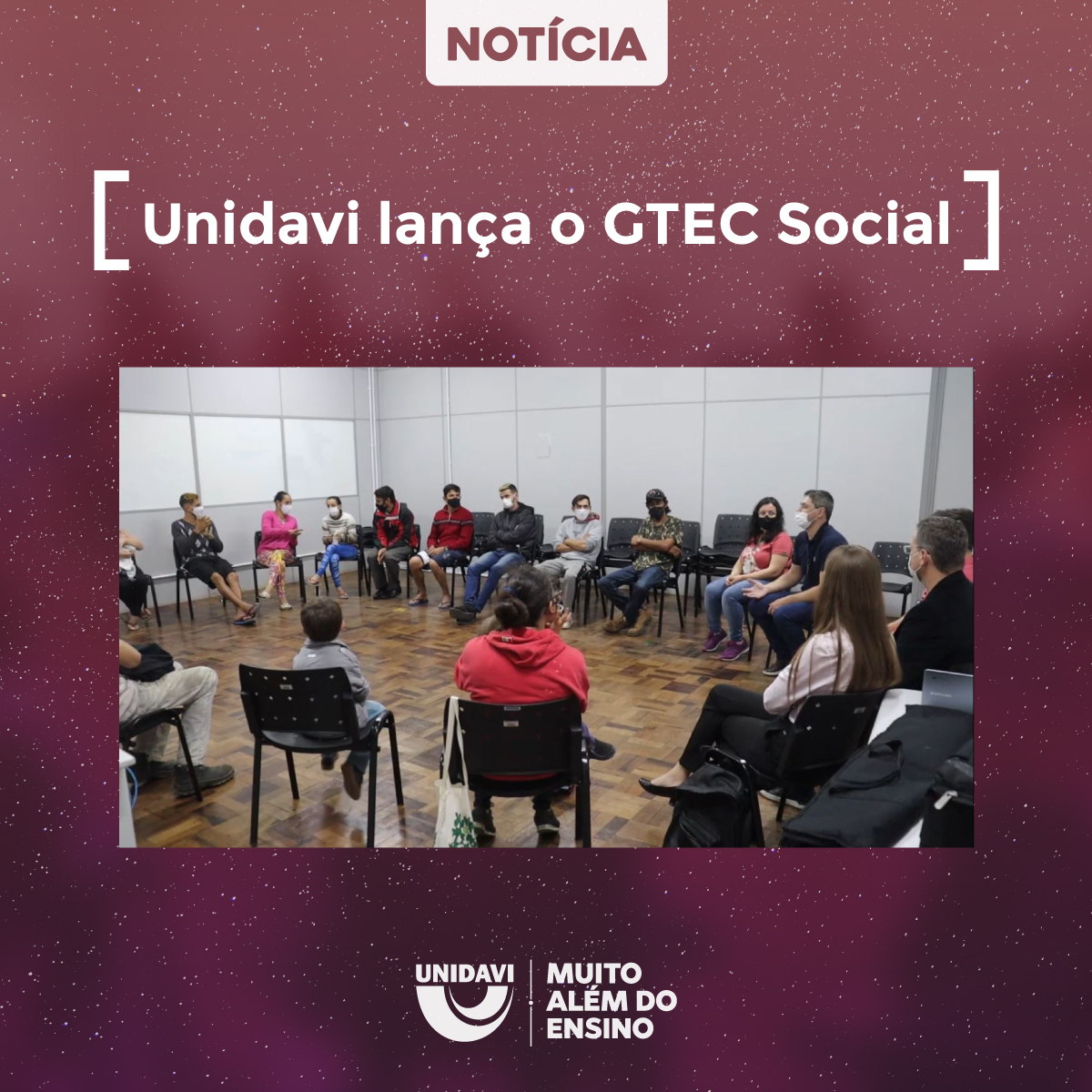 Unidavi lança o GTEC Social