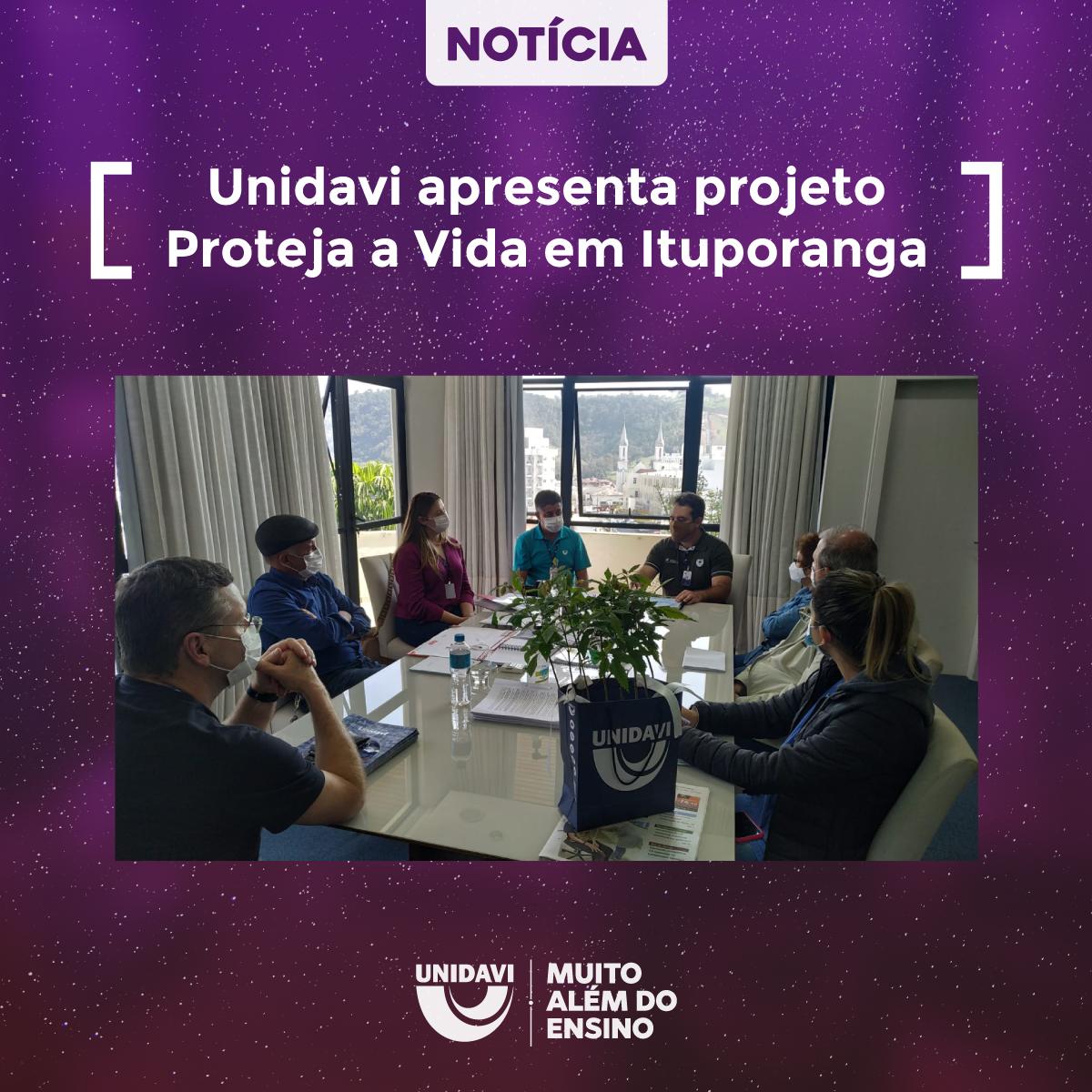 Unidavi apresenta projeto Proteja a Vida em Ituporanga