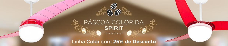 Promoção Páscoa Colorida SPIRIT