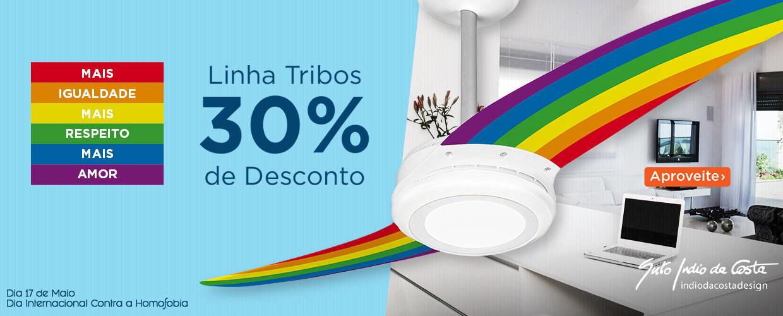 Dia Internacional Contra a Homofobia - Ventilador de Teto LED com Desconto