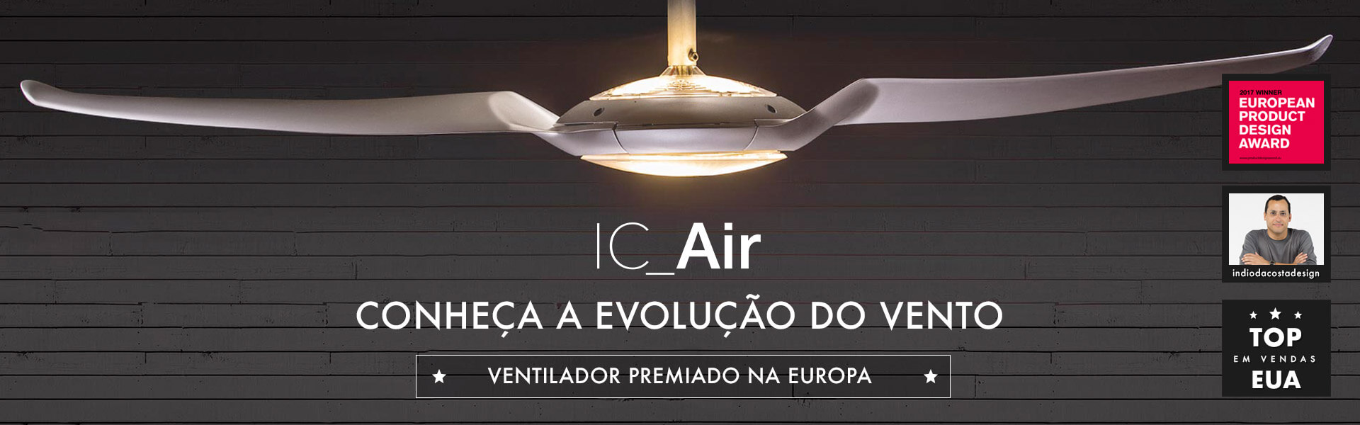 IC-AIR - A Evolução do Ventilador de Teto