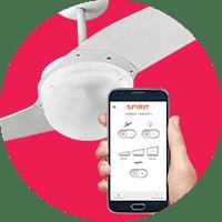 Ventiladores via App