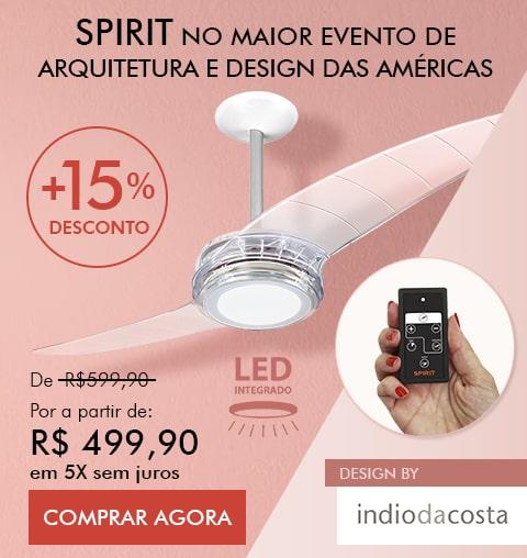 Ventilador de Teto Destaque no Maior Evento de Arquitetura do Brasil