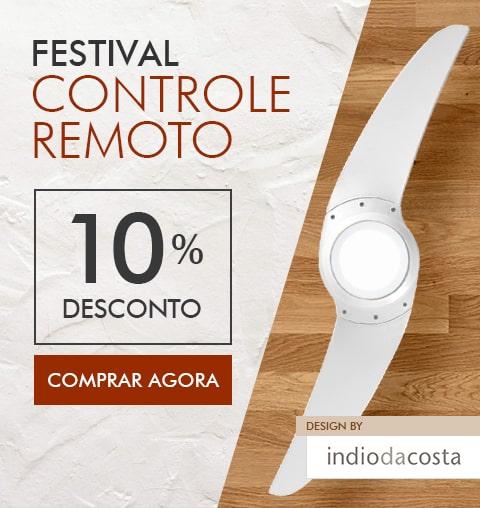 Festival SPIRIT Ventilador de Teto com Controle Remoto