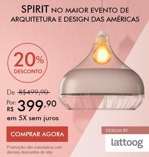 Luminária de Teto Destaque no Maior Evento de Arquitetura do Rio