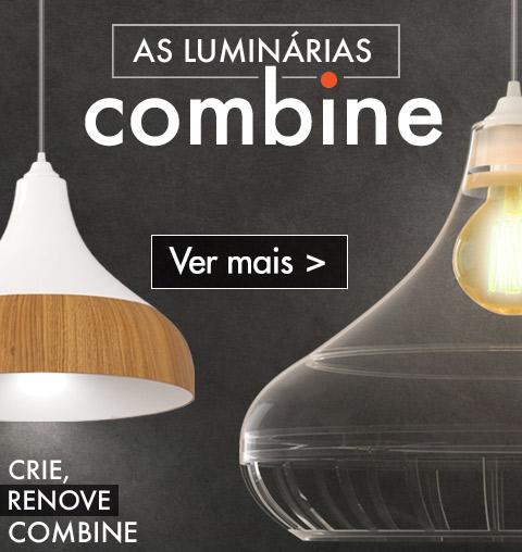 Luminárias Pendentes Combine Spirit