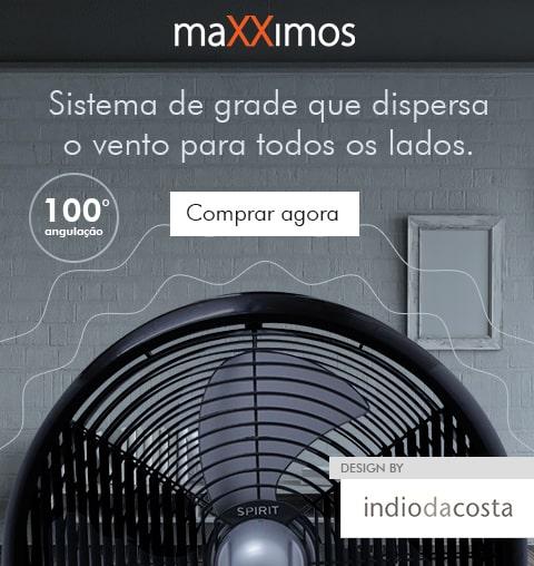 Promoção Ventiladores de Mesa e Parede Maxximos